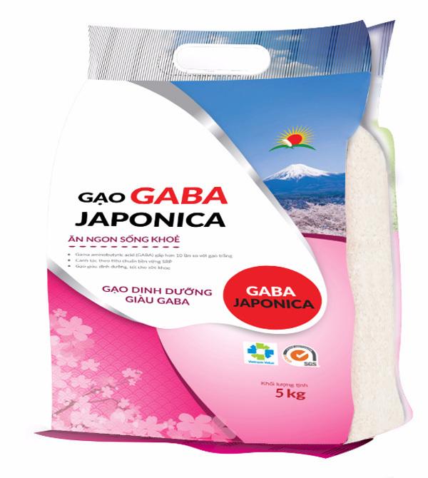 Gaba Japonica - gạo dinh dưỡng cho gia đình Việt