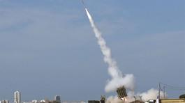 Xem Vòm sắt chặn tên lửa trên khu trượt tuyết Israel
