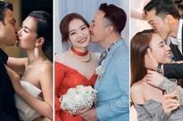 Chưa đầy 1 tháng đầu năm mà showbiz Việt đã có 7 cặp sao nên duyên chồng vợ