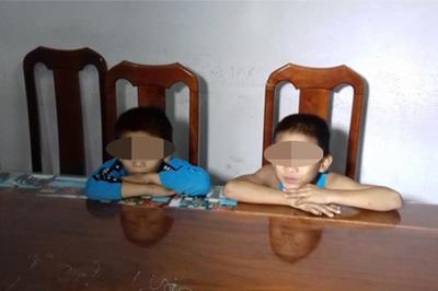 Hai 'siêu trộm' nhí gây ra 30 vụ trộm cắp ở miền Tây