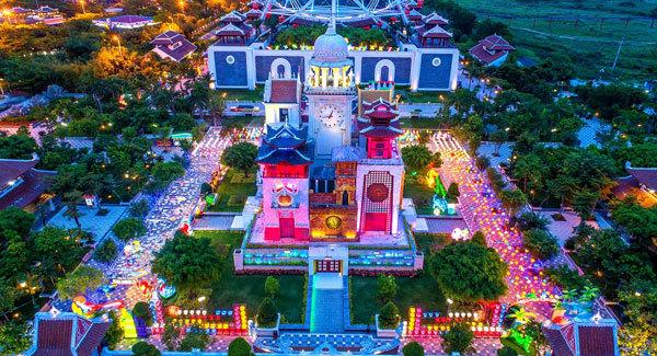 làng chài,trung tâm vui chơi giải trí