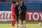 HLV Park Hang Seo lo lắng vì chấn thương của Quang Hải, Trọng Hoàng