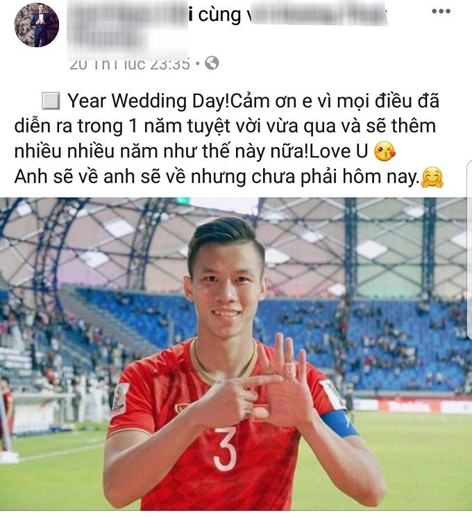 Quế Ngọc Hải,AFC Cup 2019,Asian Cup 2019,AFC 2019,Tình yêu