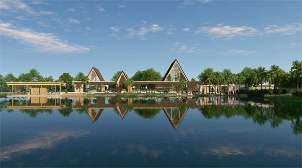 Tiện ích thượng lưu tại Biệt thự đảo Ecopark Grand - The Island