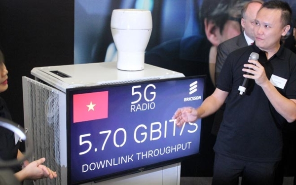 Việt Nam bắt đầu triển khai thử nghiệm miễn phí dịch vụ 5G