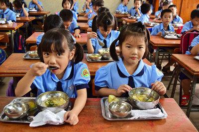 Thực đơn dinh dưỡng cho học sinh bán trú Điện Biên
