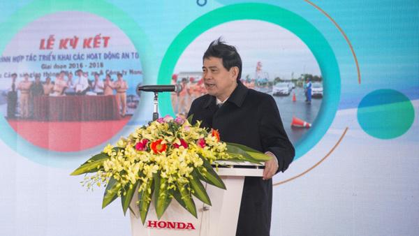 Honda VN phối hợp triển khai các hoạt động ATGT 2019-2021
