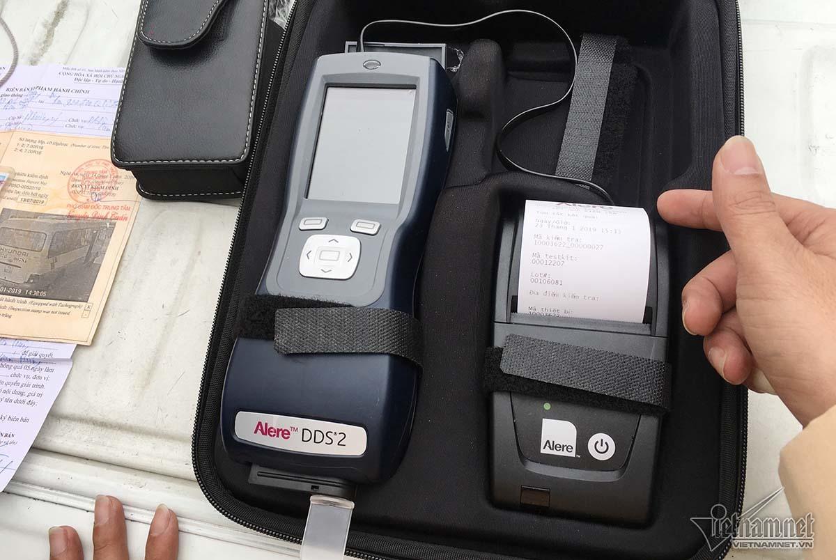 Nghệ An: Liên tiếp phát hiện tài xế dương tính với ma túy