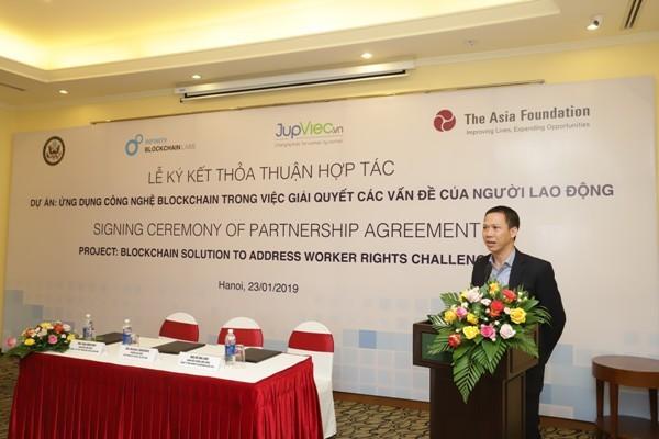 Tuyển người giúp việc tại Việt Nam bằng công nghệ Blockchain
