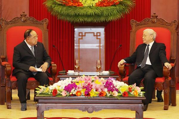 Tổng bí thư,Chủ tịch nước,Nguyễn Phú Trọng,Thái Lan