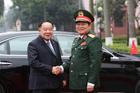 Lễ đón Phó Thủ tướng, Bộ trưởng Quốc phòng Thái Lan