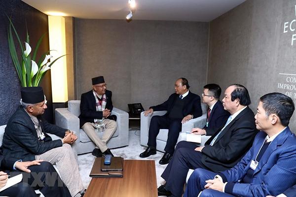 Thủ tướng nêu quan điểm 'hành động đại dương' tại Davos