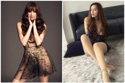Mai Phương Thúy, Phạm Hương gây tranh cãi vì trang phục nhạy cảm