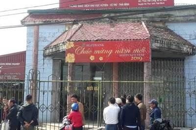 Công nhân cướp 200 triệu tại ngân hàng ở Thái Bình bị bắt