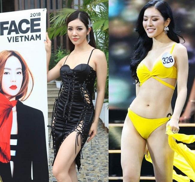 Hành động ăn mừng 'gây bão' của Ngân 98 và loạt hoa hậu với tuyển thủ Việt Nam