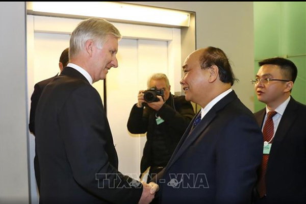 Thủ tướng tiếp các tập đoàn hàng đầu thế giới