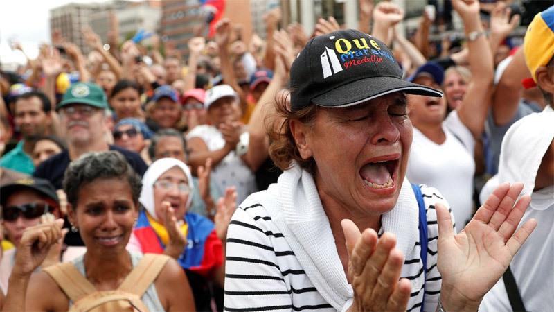 Venezuela,bất ổn,tổng thống lâm thời,căng thẳng