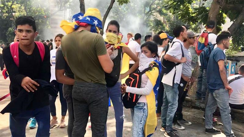 Venezuela căng thẳng tột độ, Thủ lĩnh đối lập tự xưng Tổng thống lâm thời