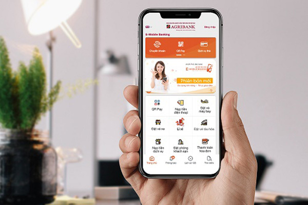 Thêm tính năng lì xì trên Agribank E-Mobile Banking phiên bản mới