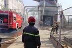 Cháy lớn ở công ty gỗ Trung Quốc, 1 người chết