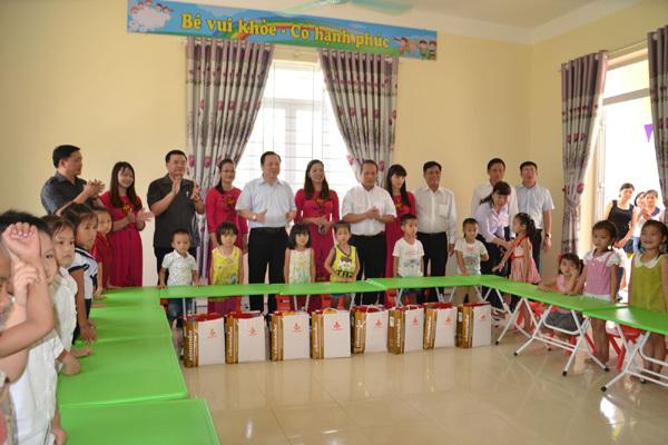 Khánh thành Trường mầm non Đào Ngạn, Cao Bằng