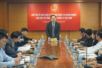 'Siêu ủy ban' làm việc với Tổng Công ty Thuốc lá VN