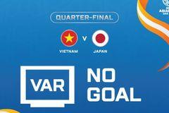 Tình huống VAR cứu thua cho Việt Nam trước Nhật Bản