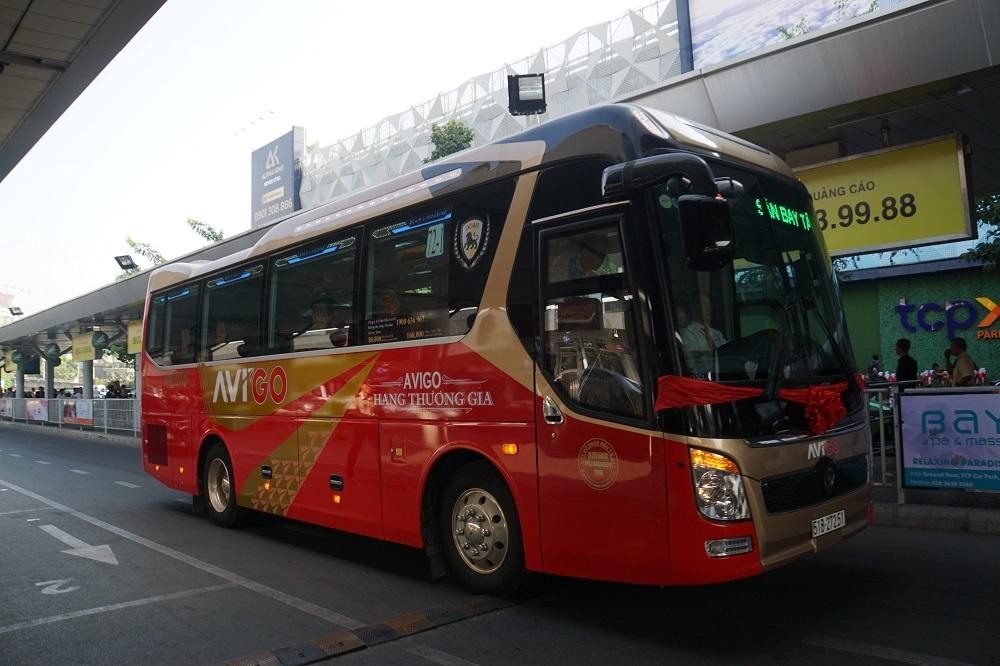 Buýt '5 sao' Tân Sơn Nhất đi Vũng Tàu lăn bánh phục vụ Tết