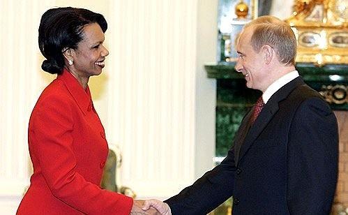 Ngoại trưởng Mỹ,Condoleezza Rice,tổng thống,Bush cha,Bush con