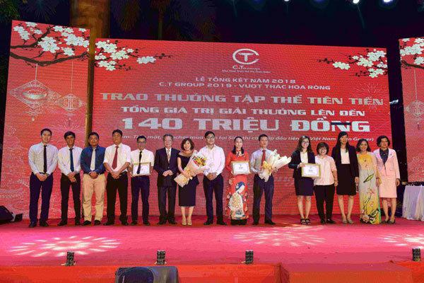 C.T Group thưởng Tết đến 6 tháng lương cùng nhiều quà tặng
