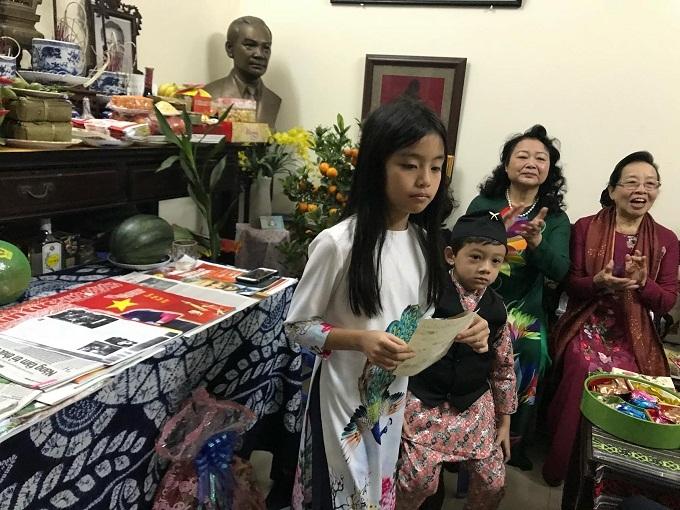 Giao thừa giữa núi rừng của gia đình cố Bộ trưởng Nguyễn Văn Huyên
