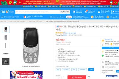 Tiki khẳng định không bán điện thoại hàng nhái, hàng giả