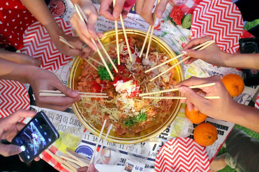 Mâm cơm ngày Tết Âm lịch của các nước có gì khác biệt
