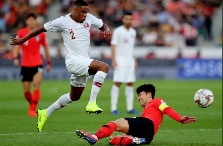 Hàn Quốc vs Qatar,Son Heung Min