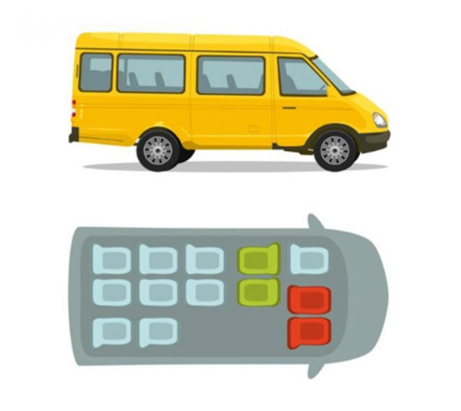 Các vị trí ngồi trên xe ô tô kém an toàn cần biết