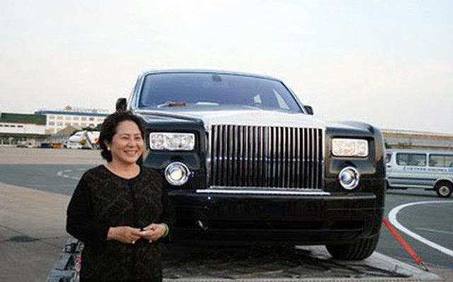 Bầu Kiên,Phạm Thị Diệu Hiền,Khải 'Silk',Dương Thị Bạch Diệp l,đại gia,xe Rolls-Royce