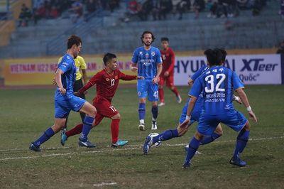 U22 Việt Nam cầm hòa Ulsan Hyundai ở trận thầy Park dự khán