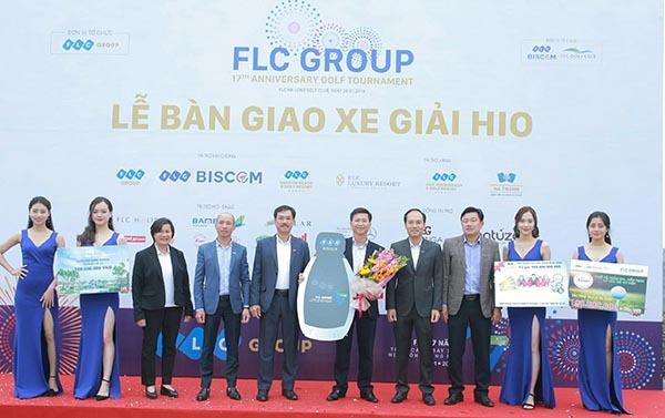 Hole in one 7 tỷ đồng về tay golfer Nguyễn Anh Tuấn