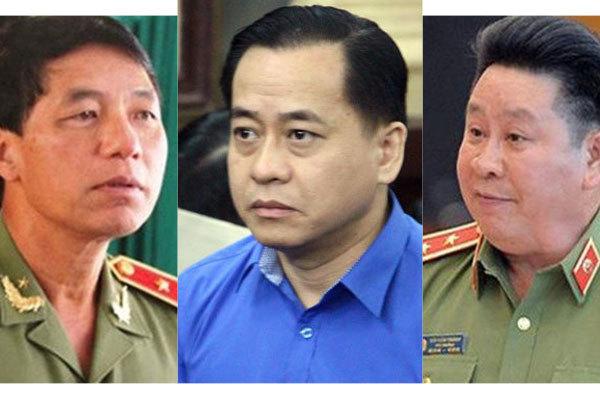 Hôm nay, xét xử Vũ 'nhôm' và 2 cựu thứ trưởng Bộ Công an