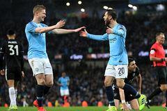 """Đại thắng """"5 sao"""", Man City phô trương sức mạnh ở FA Cup"""