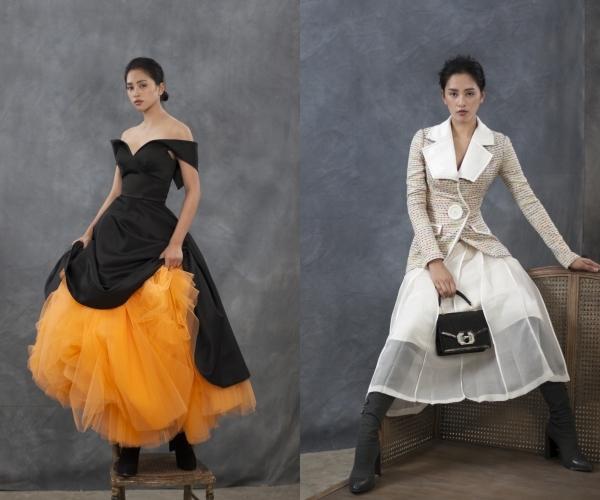 Bảo Anh táo bạo với váy xuyên thấu