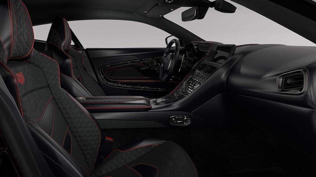 Ngắm Aston Martin DBS Superleggera bản đặc biệt phong cách đồng hồ TAG Heuer