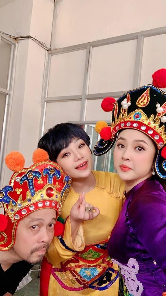 Hậu trường nhí nhố Quang Thắng, Chí Trung đóng Táo Quân 2019