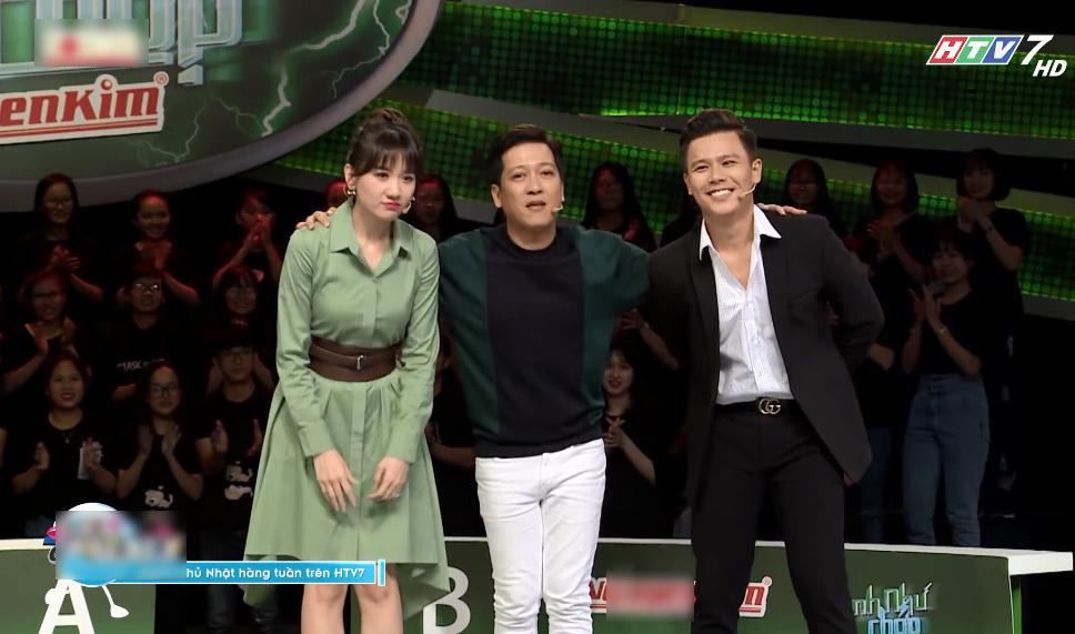 Hari Won trở lại 'Nhanh như chớp', Trường Giang đòi đổi MC