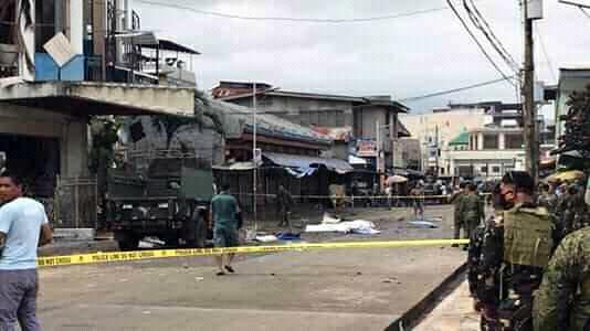Đánh bom kép ở nhà thờ Philippines, hàng chục người thương vong