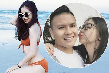 Người yêu Quang Hải nổi đóa khi bị chê kém xinh nhất dàn bạn gái cầu thủ