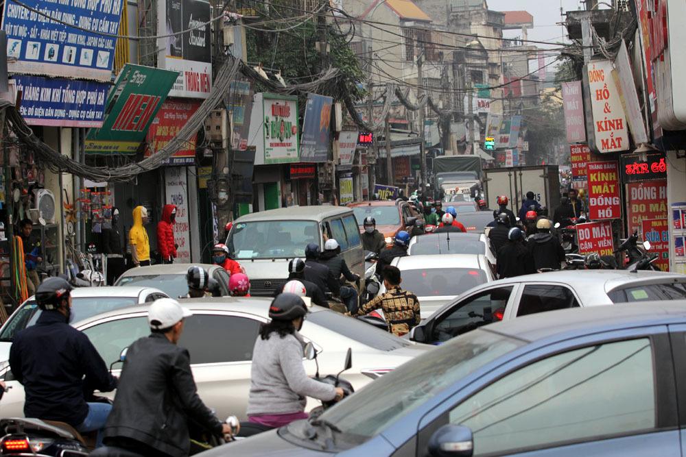 ùn tắc,ùn tắc giao thông,tắc đường,Hà Nội