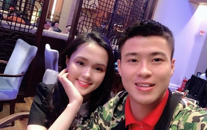 Cầu thủ Duy Mạnh,Tình yêu,Hot girl,U23 Việt Nam,AFC Cup 2019