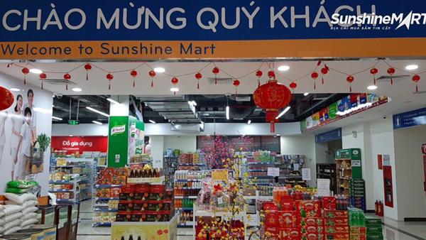Sắm Tết với muôn vàn lựa chọn tại siêu thị Sunshine Mart