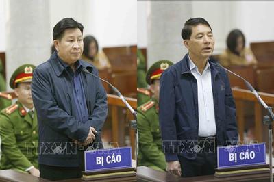 Hình ảnh xét xử Vũ 'nhôm' và 2 cựu Thứ trưởng Bộ Công an